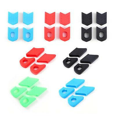 Silicone Crank Cover Protective Sleeve Bicycle Parts Chainwh