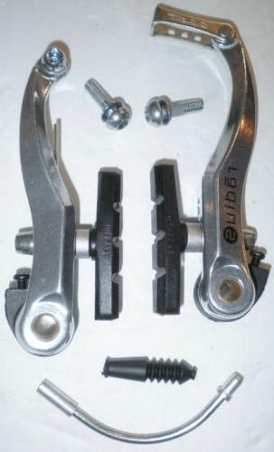 radius c star silver v brake bicycle