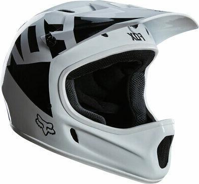 rampage full face helmet landi white glossy