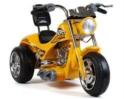 Red Hawk Motorcycle 12v Yellow
