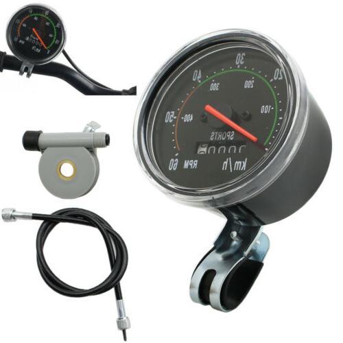 Retro General Bike Speedometer bicycle Odometer Odometer Spo