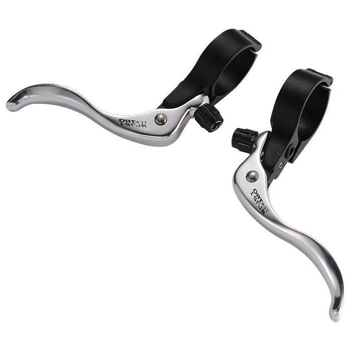 Tektro RL721 Silver 31.8mm Inline Cyclocross Bike Brake Leve