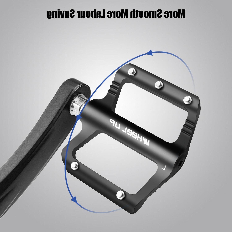 Road Pedals Wide Flat Aluminum