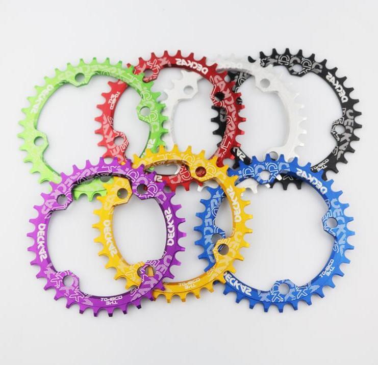 Chainring <font><b>bicycle</b></font> 36T 38T crankset plate Parts