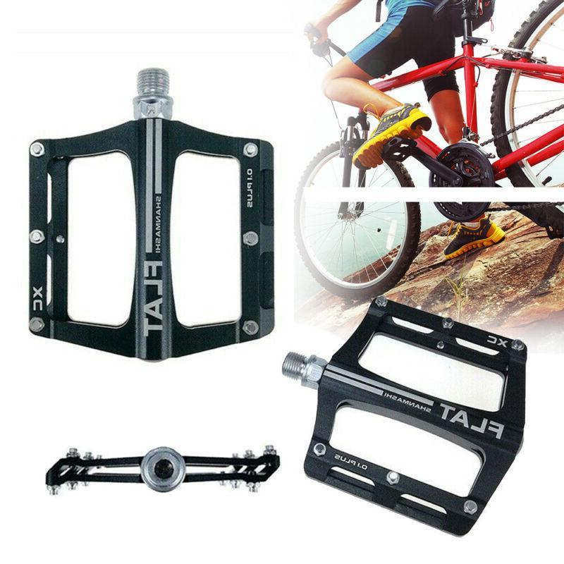 sport bearing mtb pedal flat platform pedaling