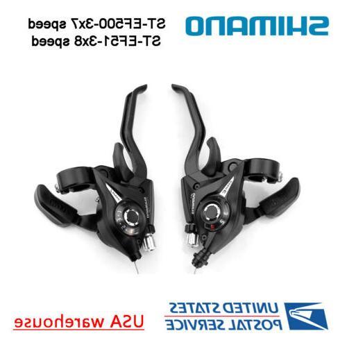 st ef51 3x7 3x8 speed shifters brake