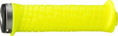ODI Troy Lee Designs Lock-On Mountain Grips Neon Yellow with