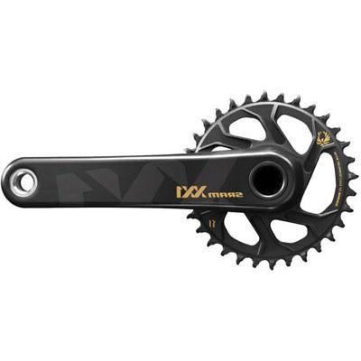 175mm black SRAM XX1 Eagle 1x12sp carbon BB30 crank 32t