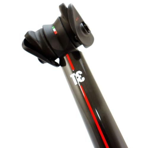 3T Carbon Setback 27.2x350mm Black/Red