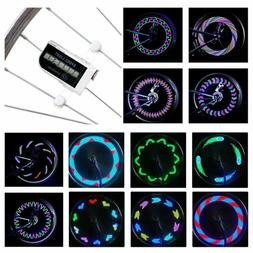 DAWAY LED Bike Spoke Lights A12 Waterproof Cool Bicycle Whee