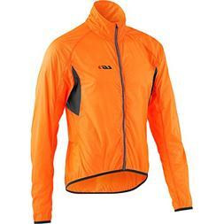Louis Garneau X-Lite Jacket - Men's Orange Fluo Large
