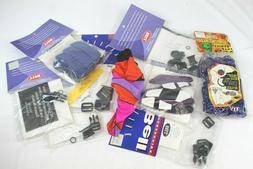 Lot Of Bell Bicycle Helmet Parts, Bike Seat Cover, Spoke-Hed