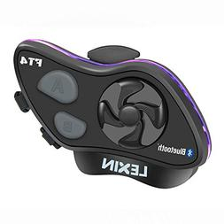LEXIN LX-FT4 1-4 Rider Motorcycle Bluetooth Headset with FM