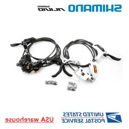 Shimano M395 Hydraulic Disc Brake Set MTB Front & Rear BL-M3