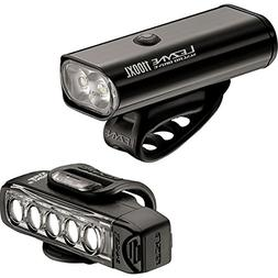 Lezyne Macro Drive 1100XL and Strip Pro Light Combo Black/Bl