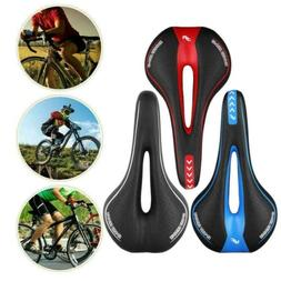 Men Breathable Mountain Bike Seat Bicycle Saddle No Nose Com