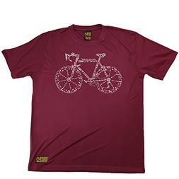 Men's RIDE LIKE THE WIND - Bicycle Parts - Premium Dry Fit B