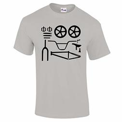 Bang Tidy Clothing Men's BMX Bike Parts T Shirt Grey S