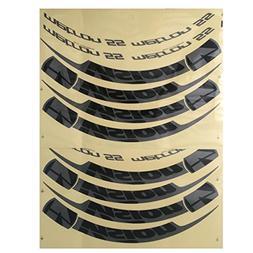 FSA Vision Metron 55 Bicycle Wheel Decal Kit