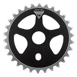 Black Ops Micro Drive BMX Chain Ring, 30t, Black