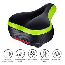 TONBUX Most Comfortable Bicycle Seat, Bike Seat Replacement