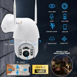 Motion tracking WiFi PTZ Speed Dome CCTV Camera 1080P Full H