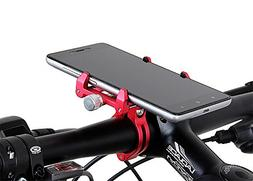 MaxMiles Motorcycle and Bicycle Cell Phone Holder Aluminum U