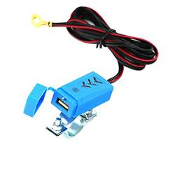 Motorcycle Waterproof Phone USB Charger Motorbike Charging E