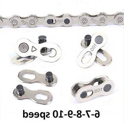 USONG mountain Bicycle Chain Bike Accessories - Durable Silv