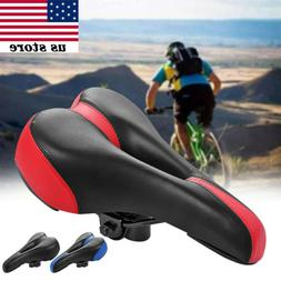 Mountain Bike Bicycle Cycle MTB Soft Saddle Seat Road Sport