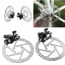 Mountain Bike Road Bicycle 160mm Rotors Front Rear Disc Brak
