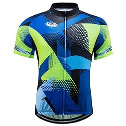 voofly Road Bike Jersey Mens,Cycling Shirts Full Zip Jacket