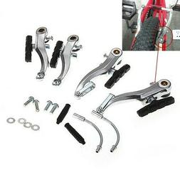 Mountain MTB Bike Bicycle Cycling V-Brake Set Front+Rear Kit