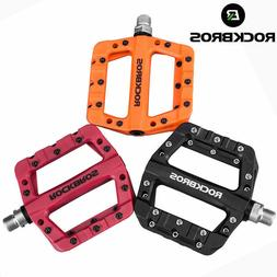 ROCKBROS Mountain Road Bike Bicycle Bearing Pedals Wide Nylo