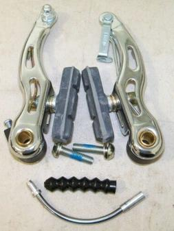 LUX MOUNTAIN SILVER BICYCLE V-BRAKES BIKE PARTS 598