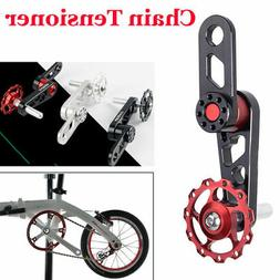 MTB Bicycle Bike Aluminum Single Speed Converter Chain Tensi