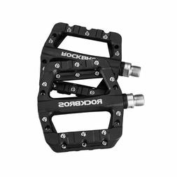 ROCKBROS MTB Bike Bicycle Pedals Nylon Wide Cycling Bearing