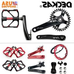 MTB Bike Crankset 104bcd Crank Arm Bicycle Pedal BB 32/34/36