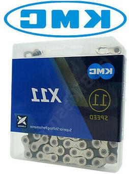 New KMC X11.93 MTB Road Bike Chain 11 Speed 116 Link Silver