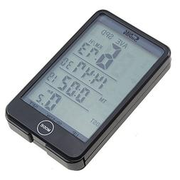 AGPtek® Multifunctional Backlight Wireless Bike Computer Od
