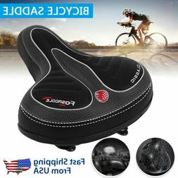 Comfort Thickened Bicycle Saddle Soft Outdoor Wide Big Bike