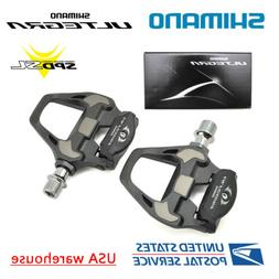 Shimano Ultegra PD-R8000 Standard and +4mm SPD-SL Road Carbo