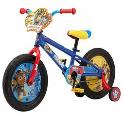 Nickelodeon Paw Patrol Boy's Bicycle with Training Wheels
