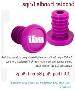 Odi Bar End Plugs For Scooters and BMX Bikes 1 Pair