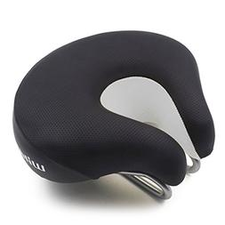 Mountainy Adult Comfortable Open Noseless Bicycle Saddle MTB