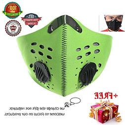 Meanhoo Outdoors Bicycle Mask Anti Pollution Dust Half Face
