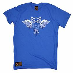 Owl Made up Of Bike Parts MENS RLTW T-SHIRT tee cycling cycl