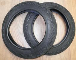 "PAIR OF KID'S 12 1/2"" BLACK BICYCLE TIRES BIKE PARTS 460-2"