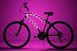 Brightz, Ltd. Cosmic Brightz LED Bicycle Frame Light, Pink