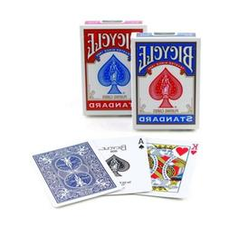 poker size standard index playing cards colors